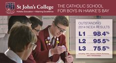 John's College provides a first-class education as the only Catholic Boys' School in Hawke's Bay, with the broadest range of sports academies available. St Johns College, Holistic Education, Catholic School, Numeracy, High School, Study, Learning, Studio, Studying