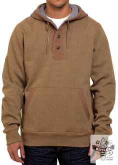 Mens Oxbow Tetove surf hoody in brown http://www.boylos.co.uk/products/view/oxbow-tetove-fleece-camel