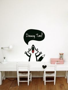 Mini Fox - A wall sticker by Vinylize Wall Deco