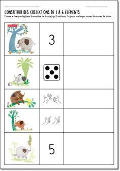 Les Incos 2019/2020 – Sélection maternelle : C'est à moi ! – exploitation en classe Maths, Blog, Character, Preschool, Africa