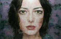 Oil Portrait, Abstract Portrait, Famous Portraits, Famous Artists, Paintings For Sale, Amazing Art, Modern Art, Original Artwork, Art Gallery