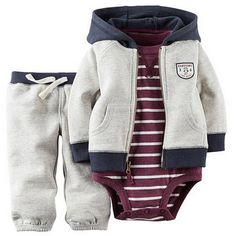 12.89$ Buy here - http://alinqg.shopchina.info/go.php?t=32805641536 - Free shipping kids baby bebes boys clothes set jacket + romper + pants boy girl clothing infant Autumn Spring children suits 12.89$ #buymethat