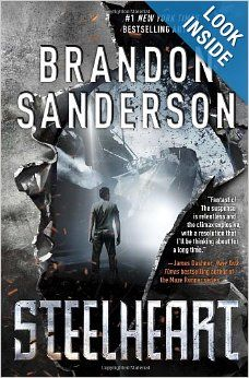Book Review: Steelheart by Brandon Sanderson (Reconers #1) - start of a young adult post-apocalyptic series. Click through for full review