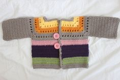 ON SALE! 12-18 Month Old Gray Striped Sweater by EdibleThoughts, $21.00