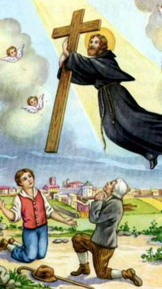 Sept. 18th - St Joseph of Cupertino (1603-1663)  St. Joseph was born at Cupertino, in the diocese of Nardo in the Kingdom of Naples, in 1603. After spending his childhood & adolescence in simplicity & innocence, he finally joined the Franciscan Friars Minor Conventual. After his ordination to the holy priesthood, he gave himself up entirely to a life of humiliation, mortification, & obedience. He was most devoted to the Blessed Virgin Mary and promoted devotion to her among all classes of…