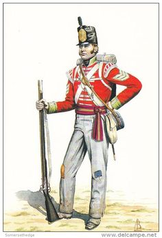 Sergeant Light Company The 39th Dorsetshire Regiment 1813