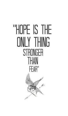 hope stronger tan fear