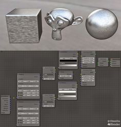 Maybe this is the third try of making Brushed metal Procedurally. here is node set up, Hope you will like it. Happy Blending !!!