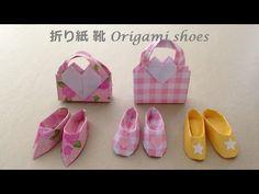 TUTORIAL - Origami High Heels Shoes (Creator: Sok Song) - YouTube