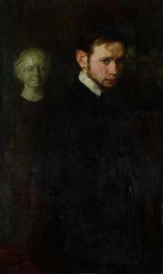 Portrait of Poet Leopolda Staffa, 1903 by Mela Muter (Polish/French 1876-1967)