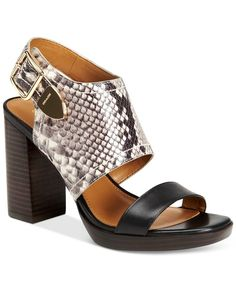 663866c9fd8a COACH Betsy Block-Heel Dress Sandals - Brought to you by Avarsha.com Flip