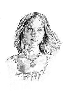 Christina Hendricks as Saffron by *jasonpal on deviantART