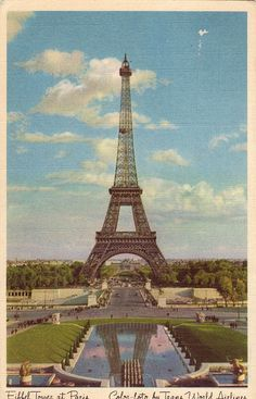 The Eiffel tower back in the day...