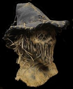 grim stitch factory Scary Halloween Masks, Creepy Masks, Cool Masks, Creepy Art, Halloween Costumes, Scarecrow Mask, Halloween Scarecrow, Halloween Diy, Halloween Decorations