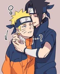 Sasunaru, Naruto Uzumaki Shippuden, Naruto And Sasuke, Gaara, Naruto Cute, Narusasu, Anime Naruto, Boruto, Funny Naruto Memes