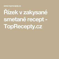 Řízek v zakysané smetaně recept - TopRecepty.cz