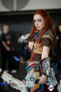 Aloy - Horizon Zero Dawn cosplay by Cosplayer: Ataraxy and Photographer: Starstage Media Melbourne Epic Cosplay, Cosplay Girls, Horizon Zero Dawn Cosplay, Girl Gifs, Gothic Girls, Game Character, Pin Up Girls, Female Characters, Sexy Lingerie