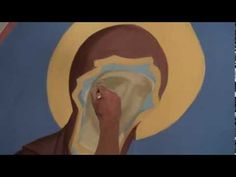 Написать икону, Dipingere l'icona della Madonna, How to draw an icon - YouTube