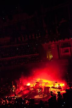 The Cure 'Reflections' @ Royal Albert Hall 11/15/11. Photo by Michel Levy