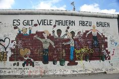 cool art on the berlin wall