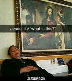 Jesus Like...#funny #lol #lolzonline