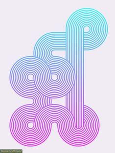 Создаем геометрические узоры из линий