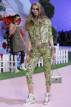 Philipp Plein Spring 2017 Ready-to-Wear Fashion Show - Lauren de Graaf