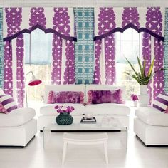 PANTONE Color of the Year 2014 - Radiant Orchid decor...I think I need nail polish in this color ASAP!