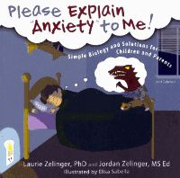 This book translates anxiety from the jargon of psychology into the concrete experiences that children can relate to. A colourful dinosaur story explains the link between brain and body functioning and gives suggestions how children can help themselves.