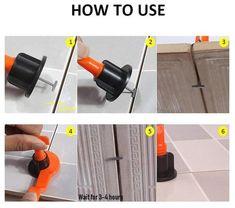 50 Pcs// Pack ORIGINAL NEW TitlePRO Reusable Anti-Lippage Tile Leveling System