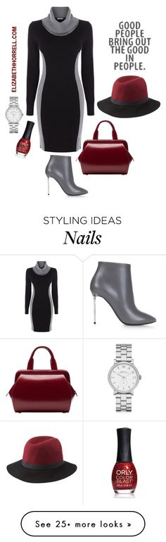 """""""LIZ"""" by elizabethhorrell on Polyvore featuring Oasis, Marc by Marc Jacobs, Charlotte Russe, Balenciaga, ORLY and Lulu Guinness"""