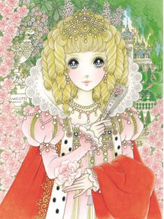 Princess with pink rose * Google for Pinterest pals1500 free paper dolls at Arielle Gabriels The International Paper Doll Society also Google free paper dolls at The China Adventures of Arielle Gabriel *