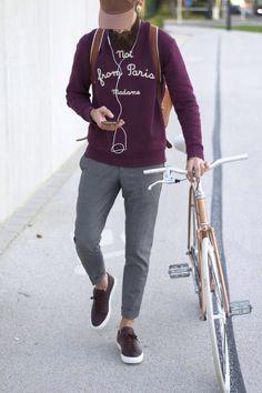 hipster biker