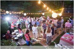 E+B . Newton Backyard Engagement Party