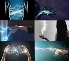 Powers of electricity, electrokinesis, psychokinesis