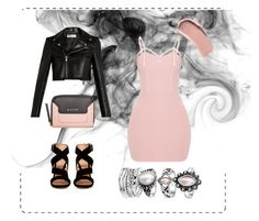 """""""#spring#black#nude"""" by sanja-tomi on Polyvore featuring Yves Saint Laurent, Gianvito Rossi, Marni and Burberry"""