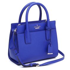 Kate Spade Mini Candace Cameron Street Night Life Blue Satchel. Save 43% on the Kate Spade Mini Candace Cameron Street Night Life Blue Satchel! This satchel is a top 10 member favorite on Tradesy. See how much you can save