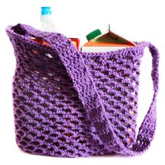 Marvelous Crochet A Shell Stitch Purse Bag Ideas. Wonderful Crochet A Shell Stitch Purse Bag Ideas. Bag Crochet, Crochet Market Bag, Crochet Shell Stitch, Crochet Purses, Cute Crochet, Crochet Hooks, Net Bag, Knitted Bags, Yarn Needle