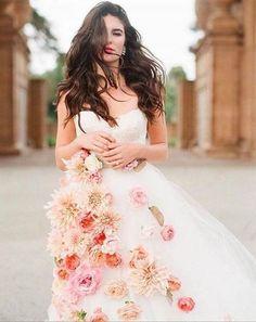 Vestidos de noiva supercriativos