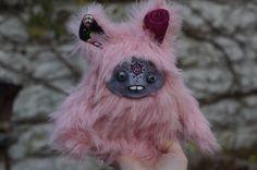 Original Fantasy OOAK Art Doll. Handcrafted Design.