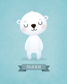 Nursery art print Nursery wall decor Childrens art Kids wall art Panda Koala Bear Polar bear Set of prints Baby boy Wall art Boys nursery. Nursery Wall Decor, Nursery Prints, Nursery Art, Art Wall Kids, Art For Kids, Kids Prints, Art Prints, Image Deco, Baby Illustration