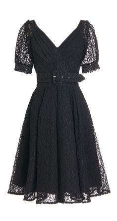 Lace Retro Dress