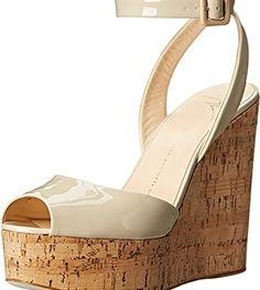 Giuseppe Zanotti Women's E50261 Beige Sandal  #Fashion
