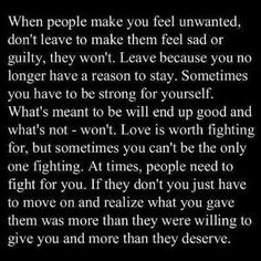 I recently told my son this. He just can't understand how or why people He thought were his friend's or cared about him constantly act like he did so wrong and they are so much better than him....I just tell him those that really care do so even in your bad or immature times because they know they have their own issues and you have stuck by them through even when it was you being hurt. by Claire Storace