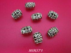 Tibetan Silver Floral Spacer Beads. Starting at $4 on Tophatter.com!    Sun Mar 31 5 pm EST:   http://tophatter.com/auctions/17827
