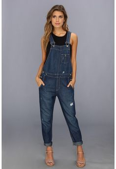 Big Star Heather Overalls in Riveria on shopstyle.com