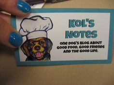 Nail polish matches business cards: It's a DO. @KolsNotes