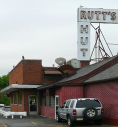 Many a ripper enjoyed here over the years...miss it!!!   Rutt's Hut by RV Bob, via Flickr, Clifton, NJ. Home of Ripper Deep Fried Hot Dogs