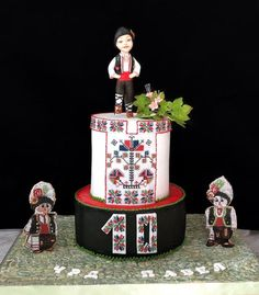 Bulgarian folklore cake by Marie123