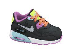 Nike Air Max 90 2007 (2c-10c) Infant/Toddler Girls' Shoe